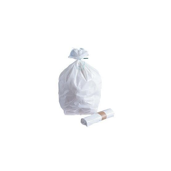 Sac poubelle blanc 20L