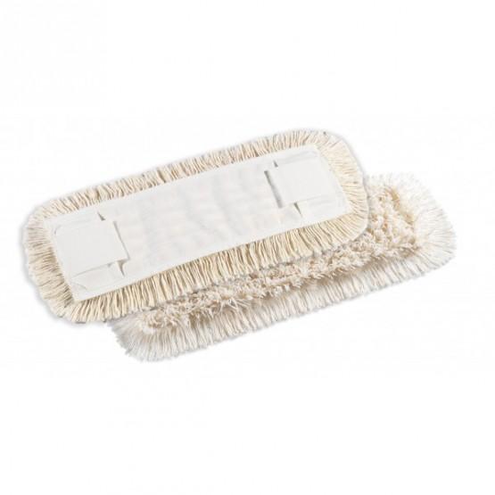 Frange coton 40cm poches et languettes