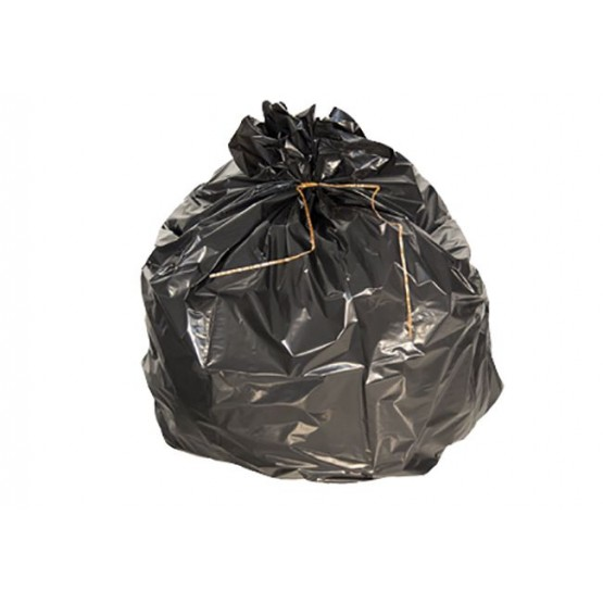 Sac poubelle 30L noir renforcé